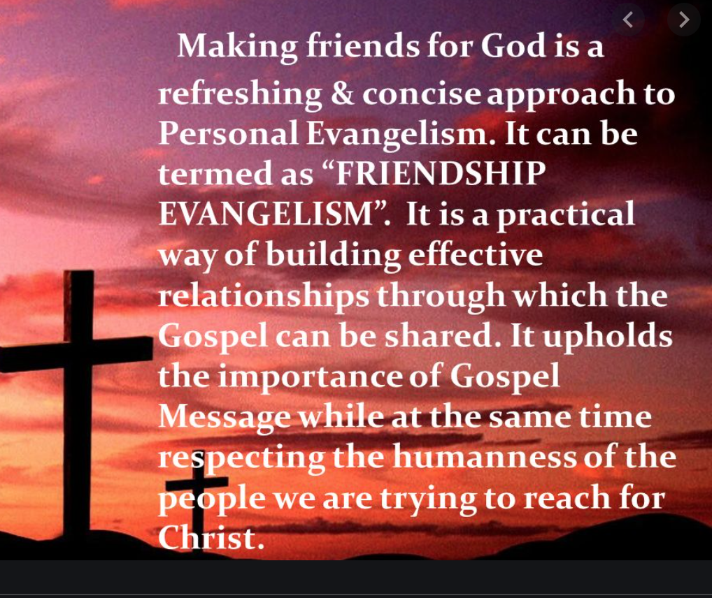 How To Evangelize, Personal Approaches To Take.